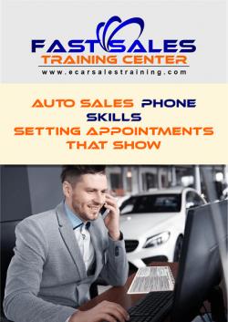 Auto Sales Phone Ebook Cover