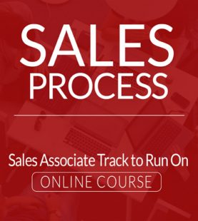 Sales Process – Sales Associate Track to Run On Online Course
