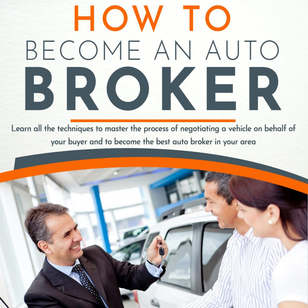 Become an independent Auto Broker closing deals with both automobile dealerships and individual buyers. Be the auto broker that alleviates pressure from the dealership and the time-wasting process of going back and forth. Our online training will help you to become the auto broker that locates, negotiates and delivers the car to your buyer.  You can potentially make up to six figures while working your own hours. Fast Sales Training Center offers a personalized online portal where you can access your course and book. Visit our website at www.ecarsalestraining.com