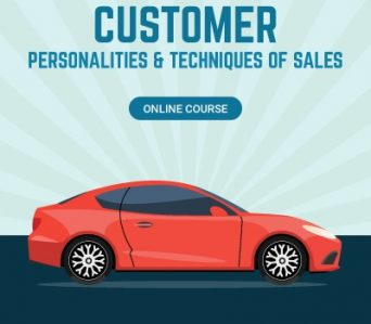 Customer Personalities & Techniques of Sales Online Course